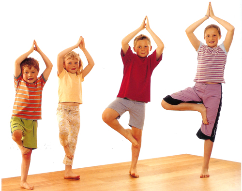 Kids Yoga: Yoga & Craft Holiday Workshop