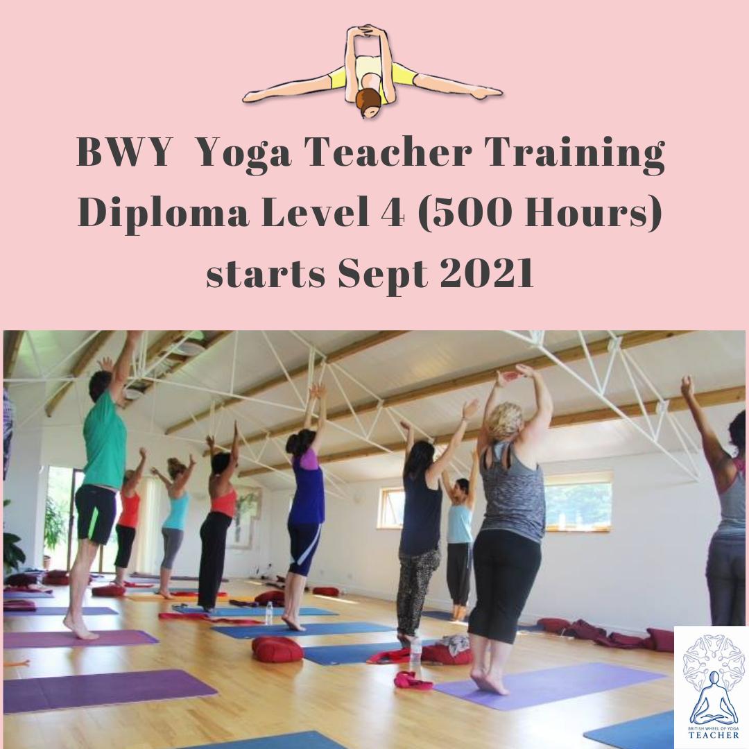 BWY Teacher Training (Diploma Level 4)